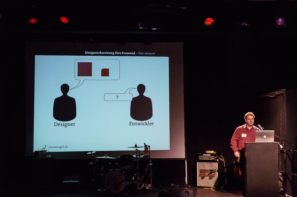 Jens Weigel - Designvorbereitung fürs Frontend