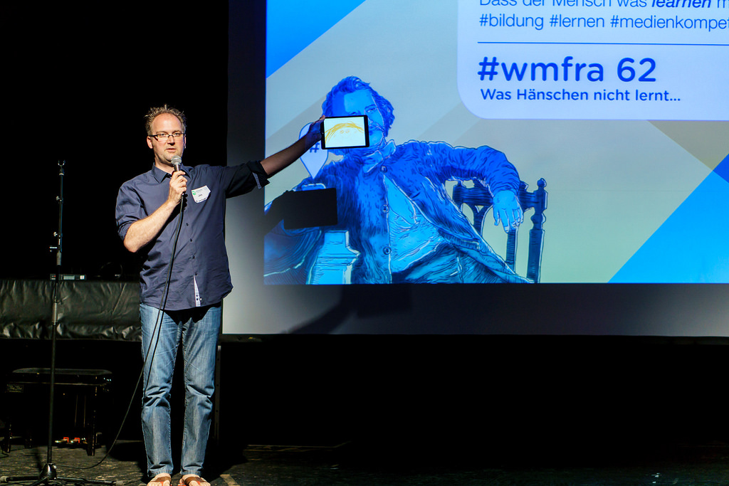 Moderator des 62. Webmontags: Jan Eggers