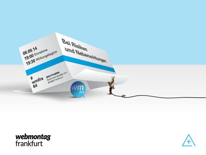 Webmontag Frankfurt - Bei Risiken und Nebenwirkungen